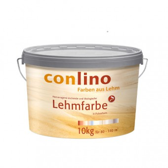 conlino Lehmfarbe - Lehmweiß