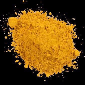 Pigmente: gelb bis orange