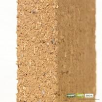 Lehmplatte im Querschnitt