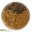 Inhaltsstoffe: Rohlehm + Blähschiefer + Strohhäcksel