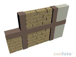 Neuausfachung mit lehmsteinen lehm bau shop for Ideales fachwerk