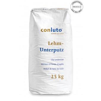 conluto Lehm Unterputz - Sackware 25 kg
