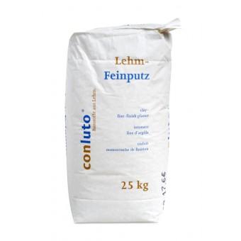 conluto Lehm Feinputz - Sackware 25 kg