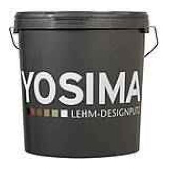 YOSIMA Lehmedelputz - Grundfarben SCHWARZ