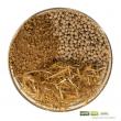 Zusammensetzung: Rohlehm + Blähglasgranulat + Strohhäcksel